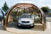 Экономичные и многофункциональные навесы для автомобилей из поликарбоната