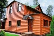 Отличное решение отделки фасада дома - виниловый блок-хаус