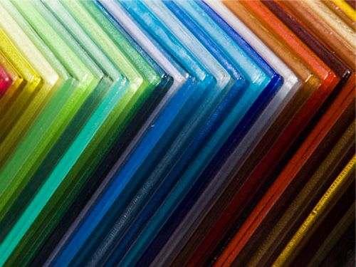 Цветное прозрачное оргстекло